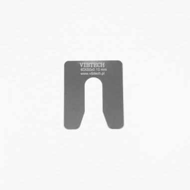 Podkładka stalowa M12 grubość: 0,10mm