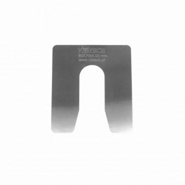 Podkładka regulacyjna M18 grubość: 0,05 mm