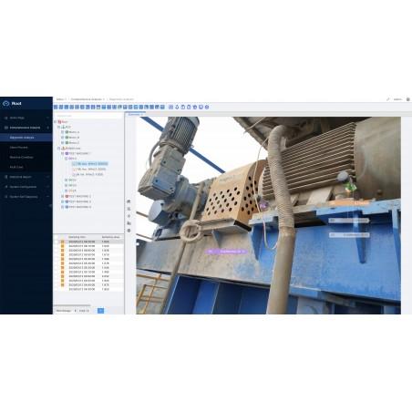 Oprogramowanie utrzymanie ruchu diagnostyczne CMMS do maszyn MOS3000