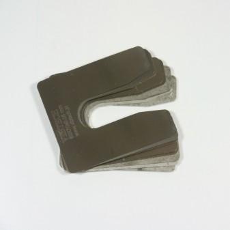 Zestaw podkładek regulacyjnych PRO 100 szt. M18, 80x70 mm