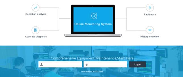 System monitorowania drgań